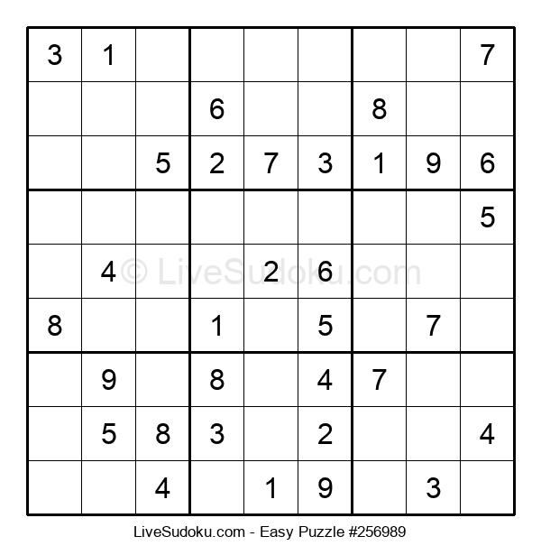 Beginners Puzzle #256989