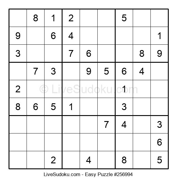 Beginners Puzzle #256994
