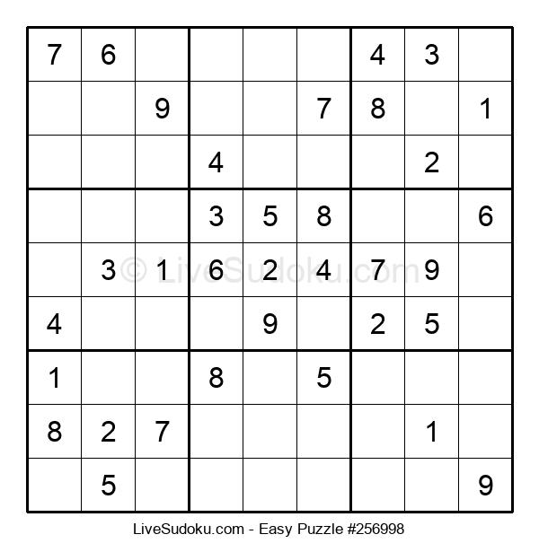 Beginners Puzzle #256998