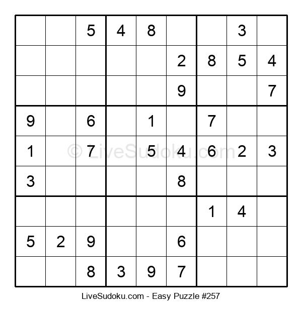 Beginners Puzzle #257