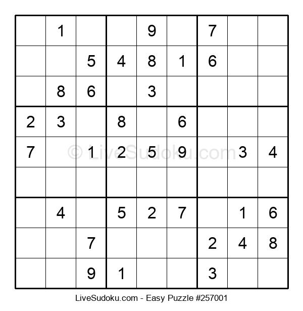 Beginners Puzzle #257001