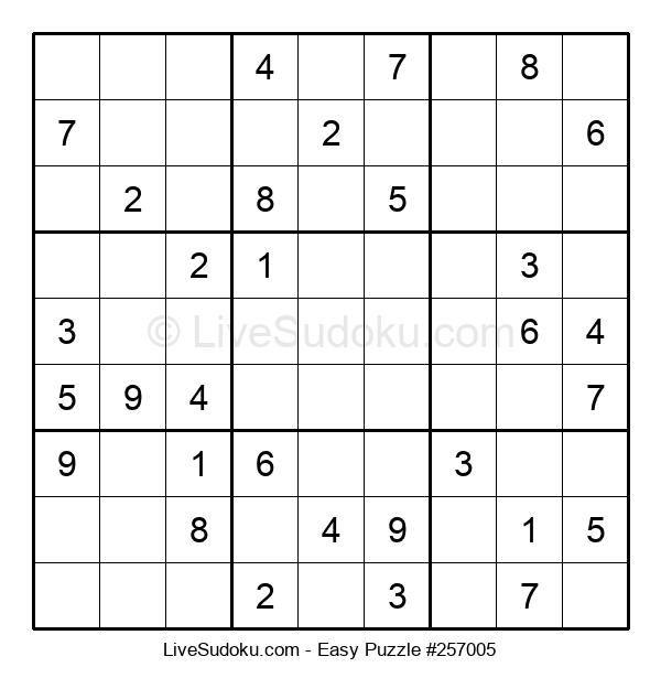 Beginners Puzzle #257005