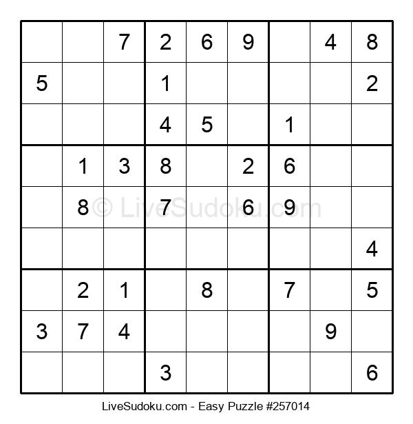 Beginners Puzzle #257014