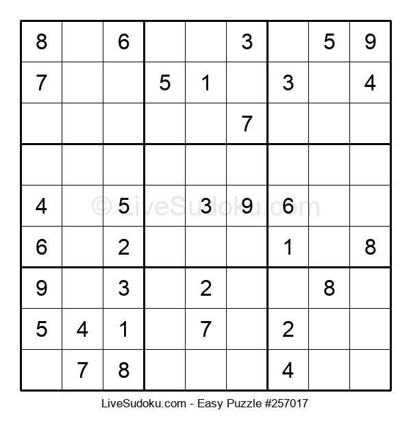 Beginners Puzzle #257017