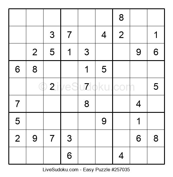 Beginners Puzzle #257035