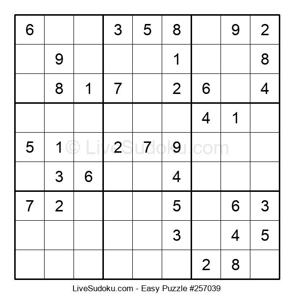Beginners Puzzle #257039