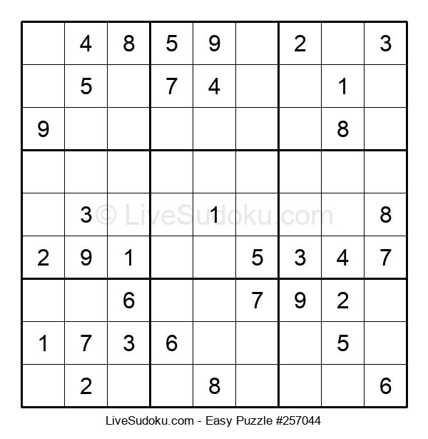 Beginners Puzzle #257044