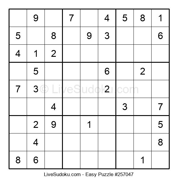 Beginners Puzzle #257047