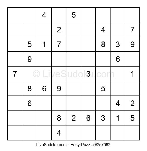 Beginners Puzzle #257062