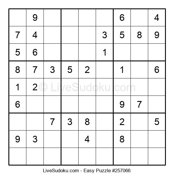Beginners Puzzle #257066