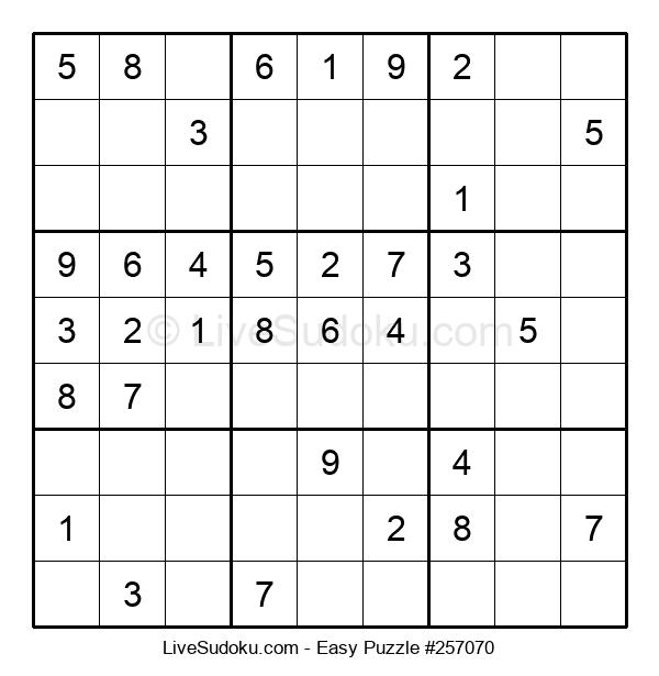 Beginners Puzzle #257070