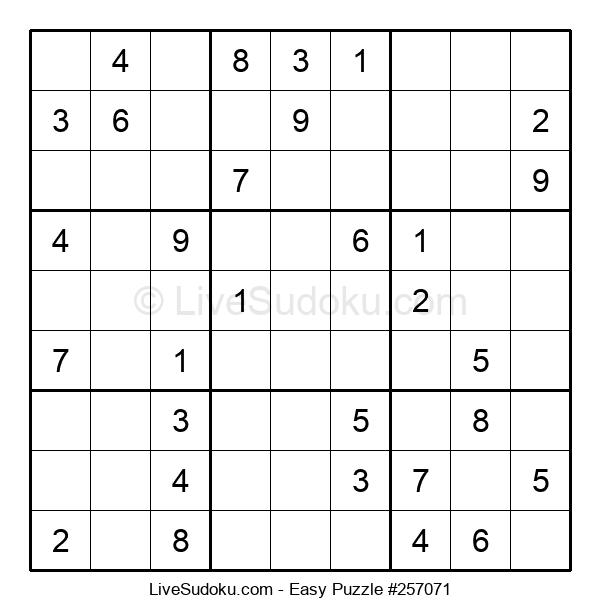 Beginners Puzzle #257071