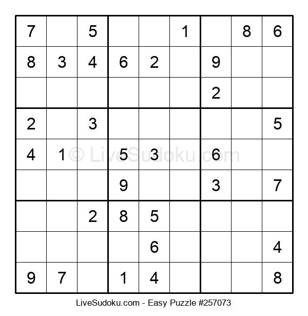 Beginners Puzzle #257073