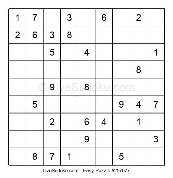 Beginners Puzzle #257077