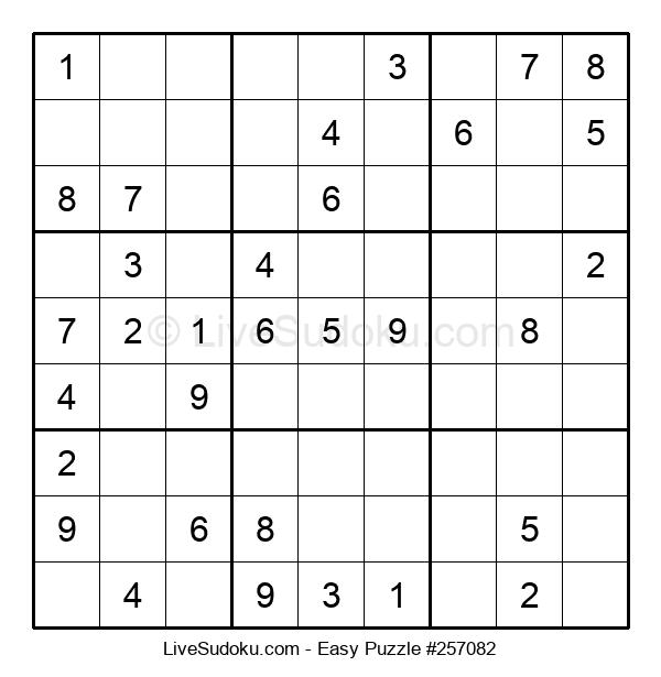 Beginners Puzzle #257082