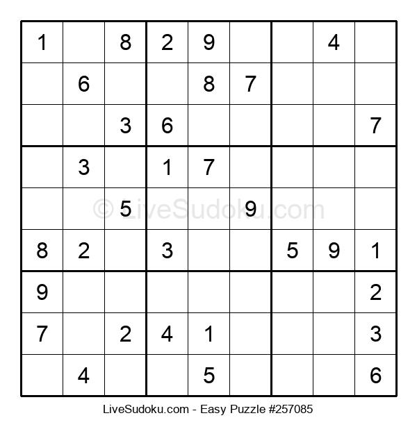 Beginners Puzzle #257085