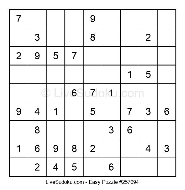 Beginners Puzzle #257094