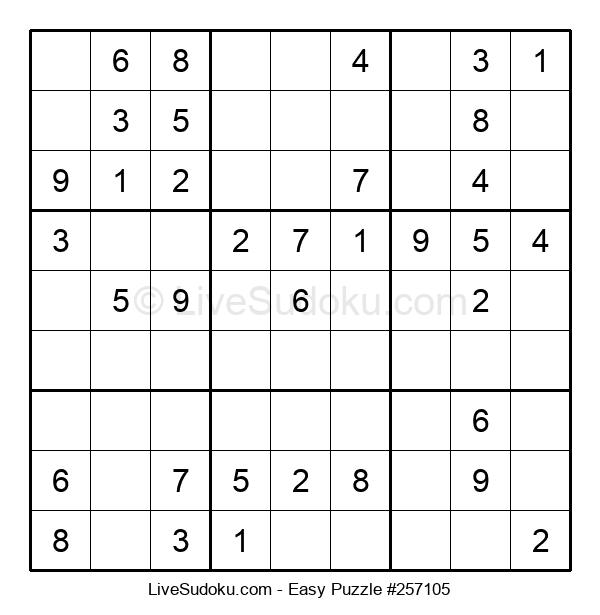 Beginners Puzzle #257105