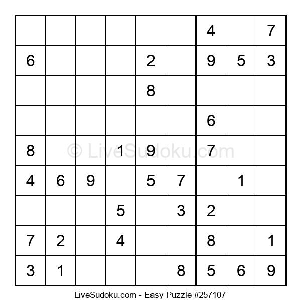 Beginners Puzzle #257107