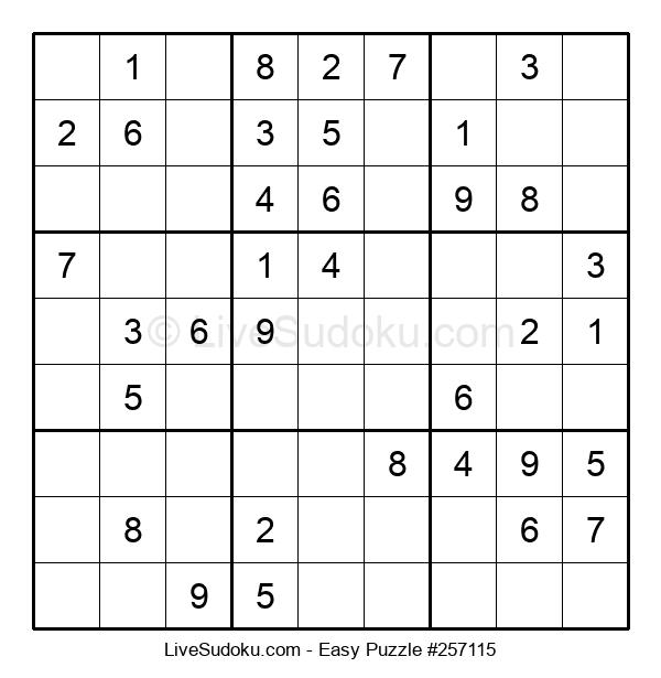 Beginners Puzzle #257115