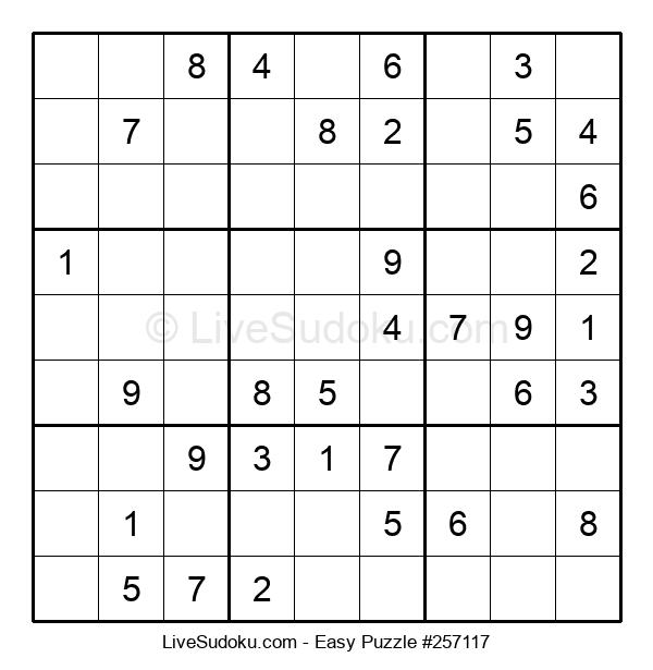Beginners Puzzle #257117