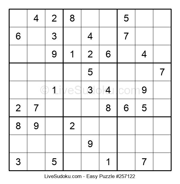 Beginners Puzzle #257122