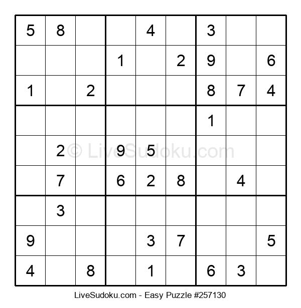Beginners Puzzle #257130