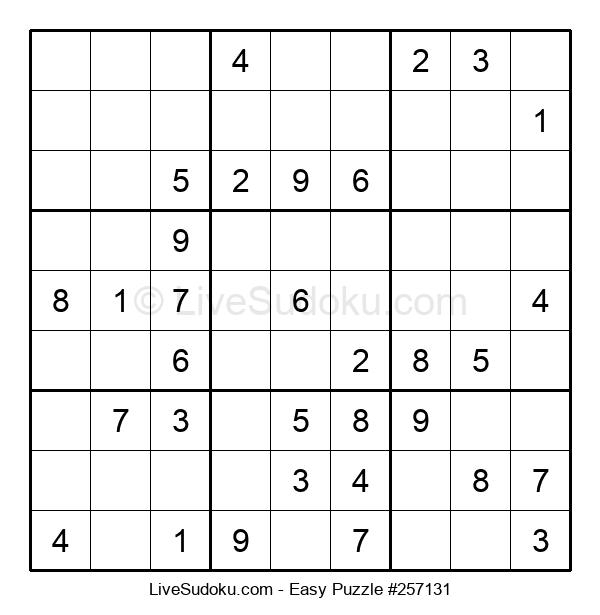 Beginners Puzzle #257131