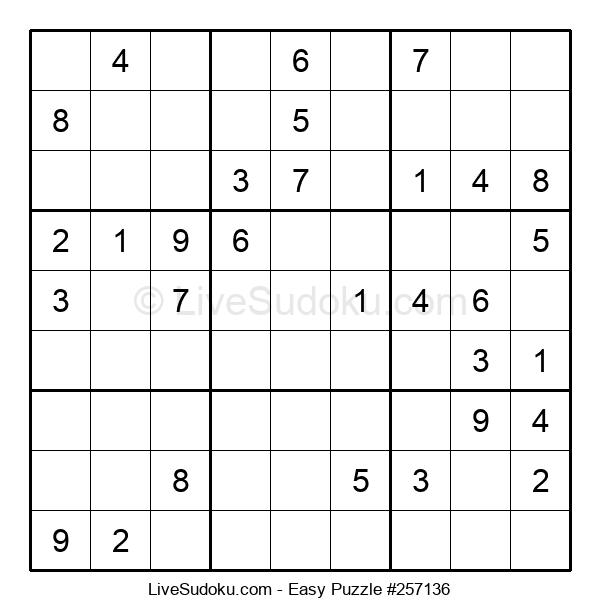 Beginners Puzzle #257136