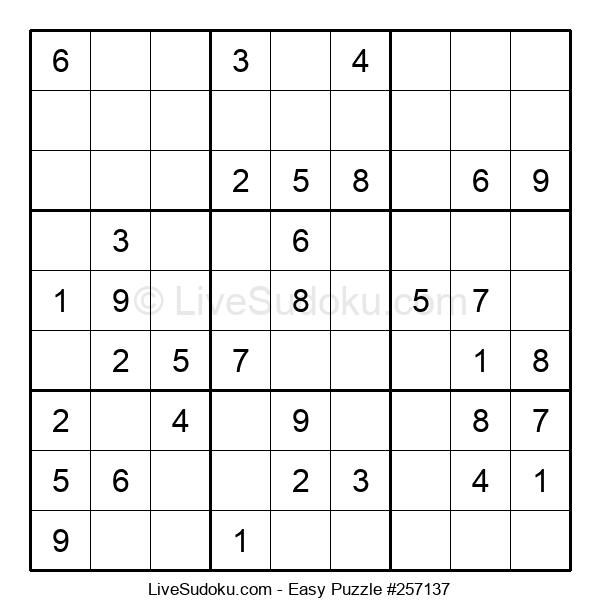 Beginners Puzzle #257137