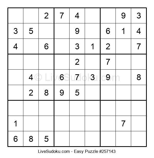 Beginners Puzzle #257143