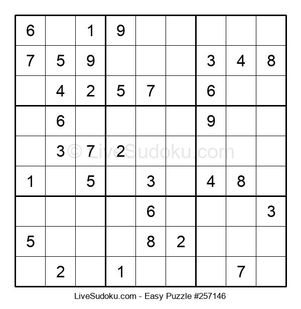 Beginners Puzzle #257146