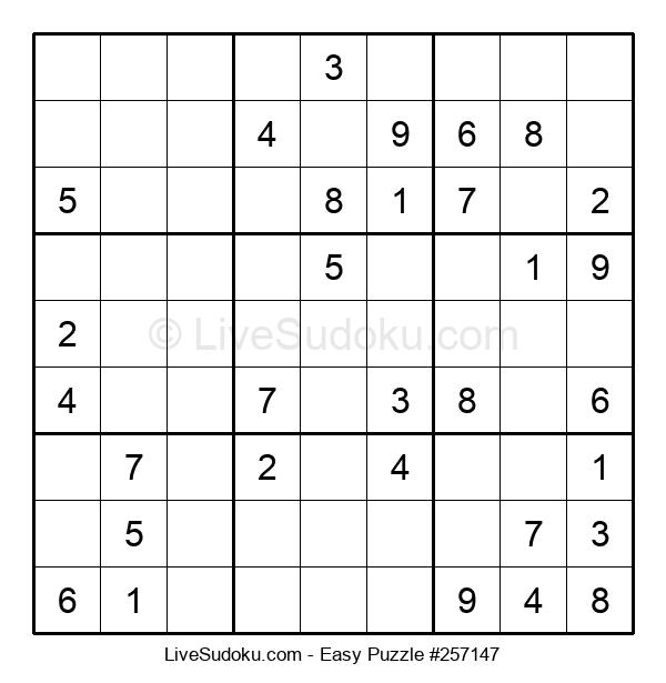 Beginners Puzzle #257147