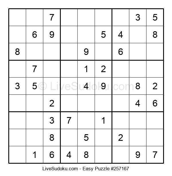 Beginners Puzzle #257167