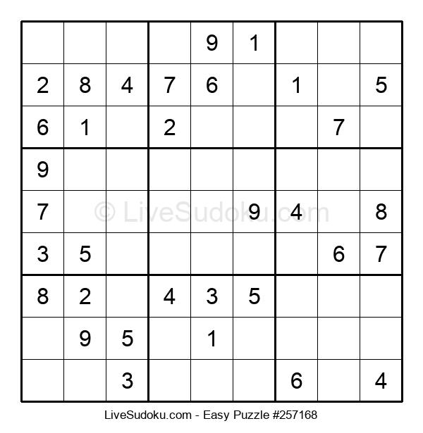 Beginners Puzzle #257168