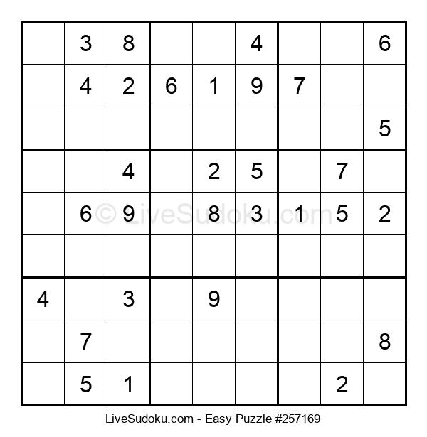 Beginners Puzzle #257169