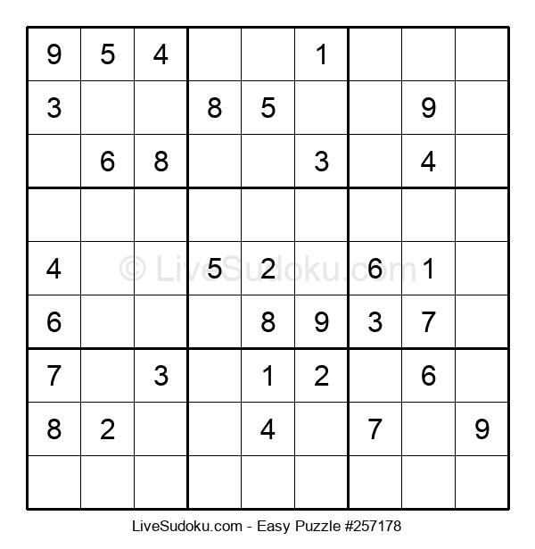 Beginners Puzzle #257178