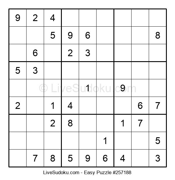 Beginners Puzzle #257188