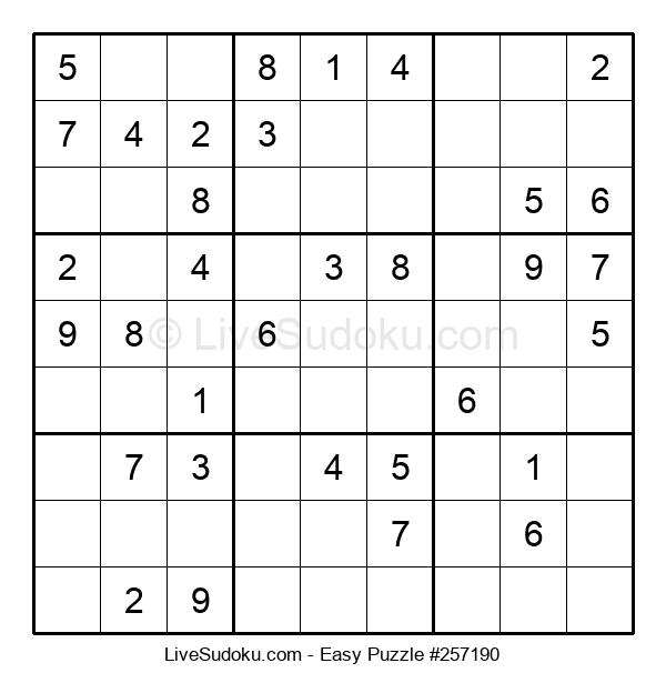 Beginners Puzzle #257190