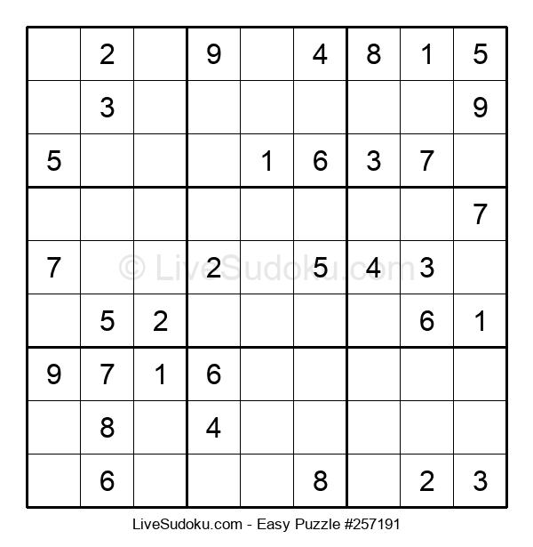 Beginners Puzzle #257191