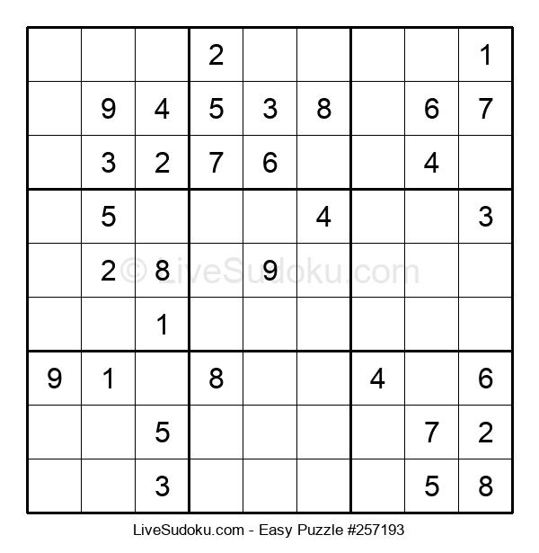 Beginners Puzzle #257193