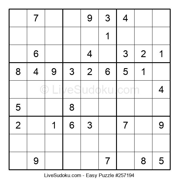 Beginners Puzzle #257194