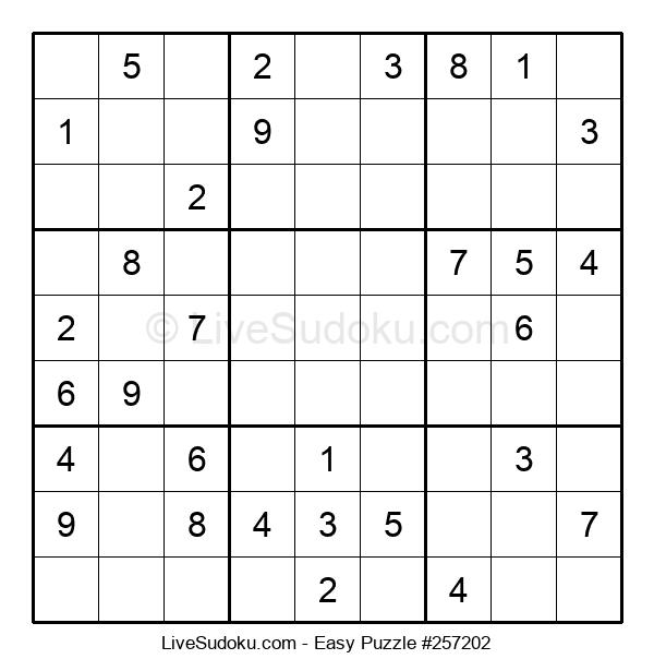 Beginners Puzzle #257202