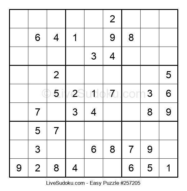 Beginners Puzzle #257205