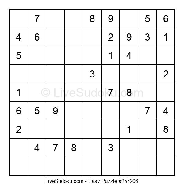 Beginners Puzzle #257206