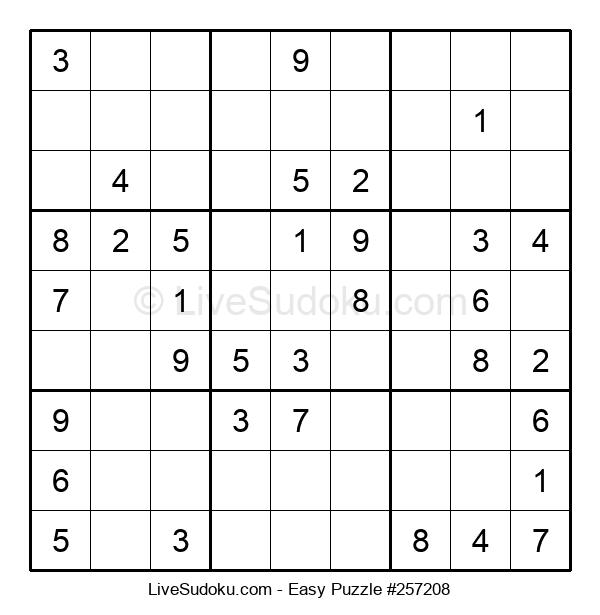 Beginners Puzzle #257208