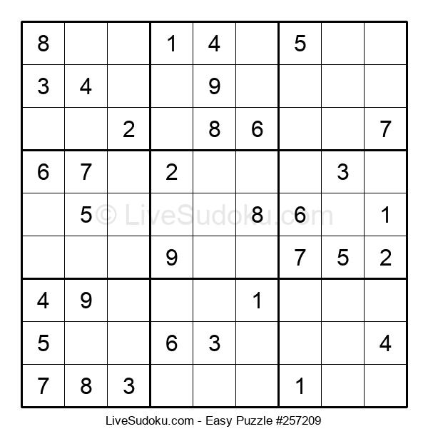 Beginners Puzzle #257209