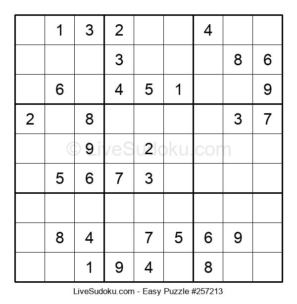 Beginners Puzzle #257213