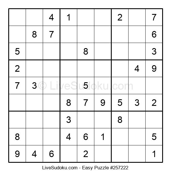 Beginners Puzzle #257222