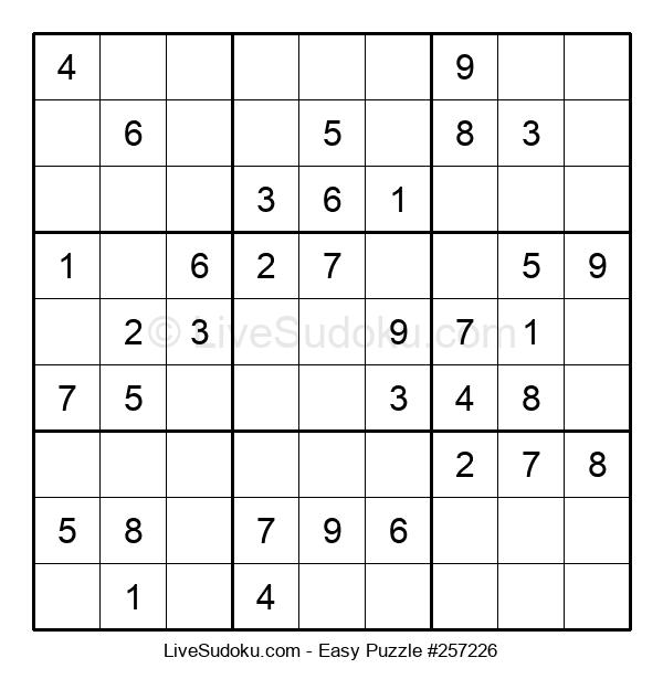 Beginners Puzzle #257226